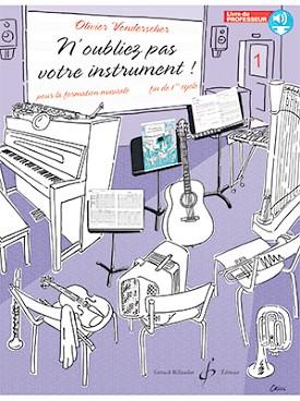 N'Oubliez pas votre instrument